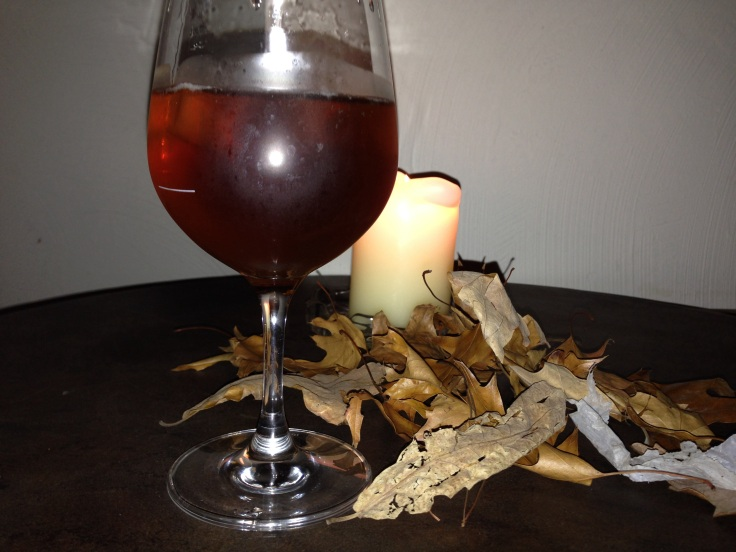 The Autumn leaves enhanced the themed evening beautifully