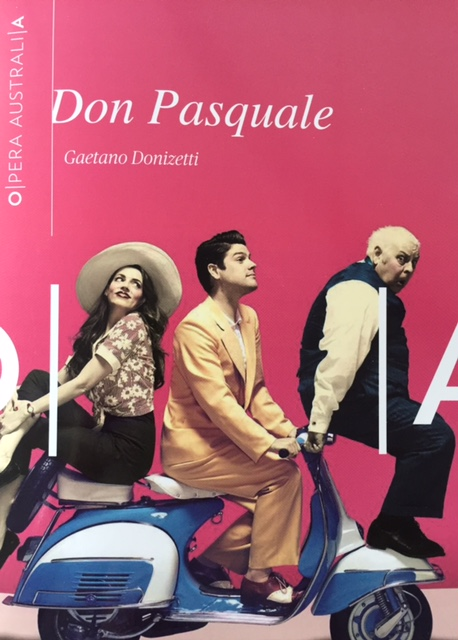 Don Pasquale - Front cover