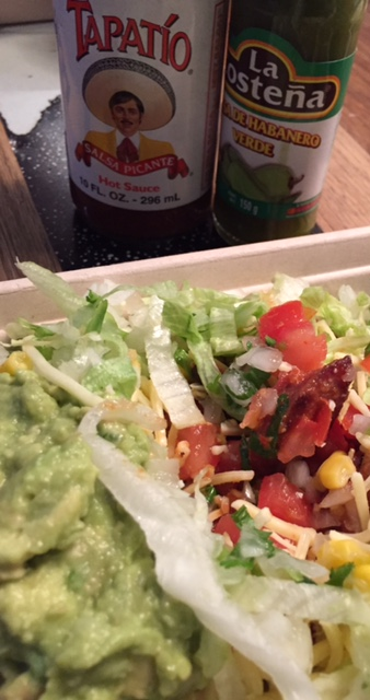 Mexican salad hold the margarita