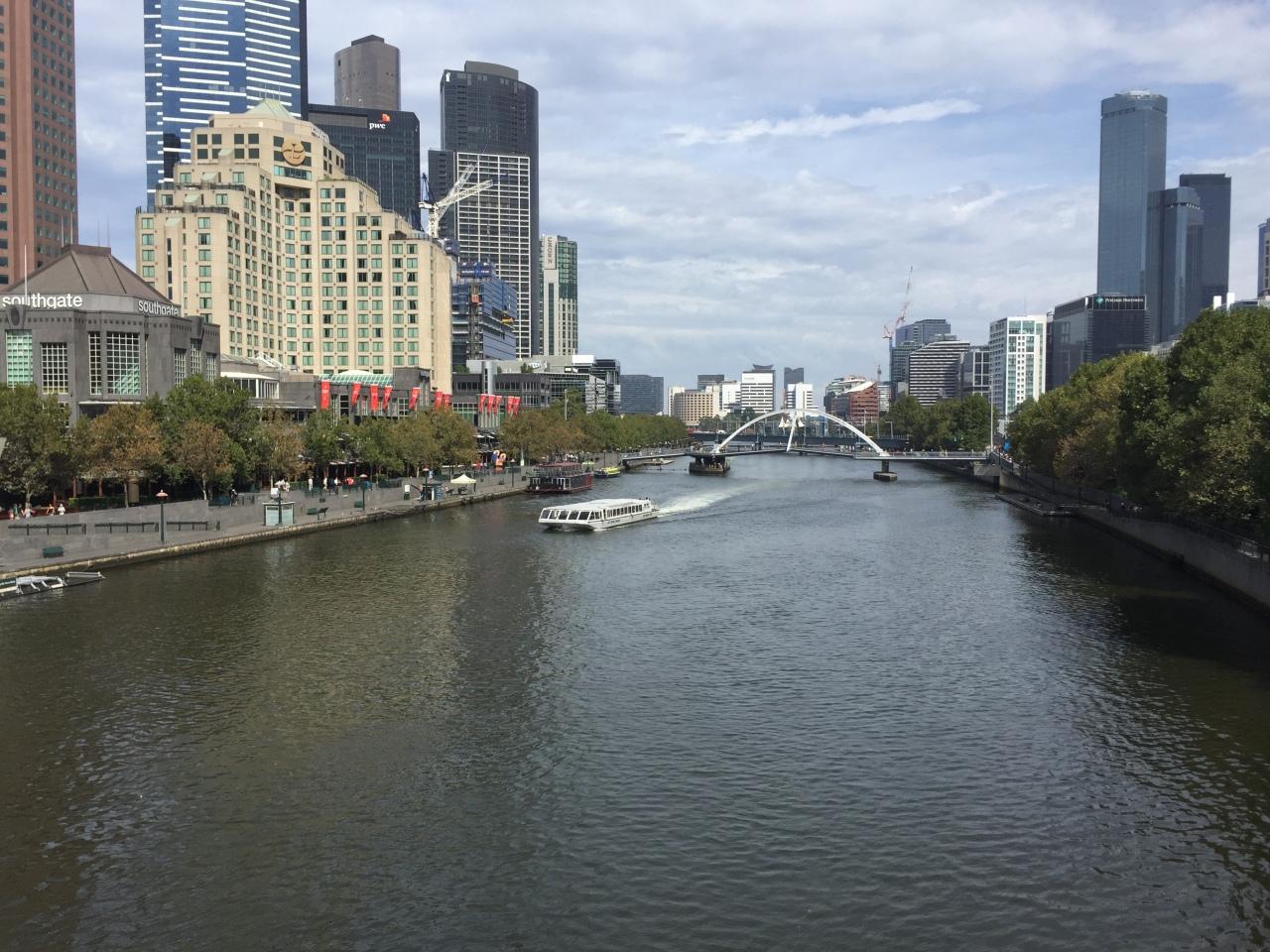Melbourne the destination