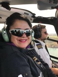 Co-pilot Petra