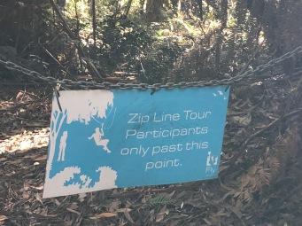 Zipline signage IMG_7108